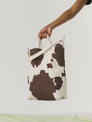 Baggu Baggu Duck Canvas Bag - Brown Cow