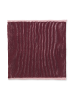ferm LIVING Twofold Organic Cotton Dishcloth  - Red