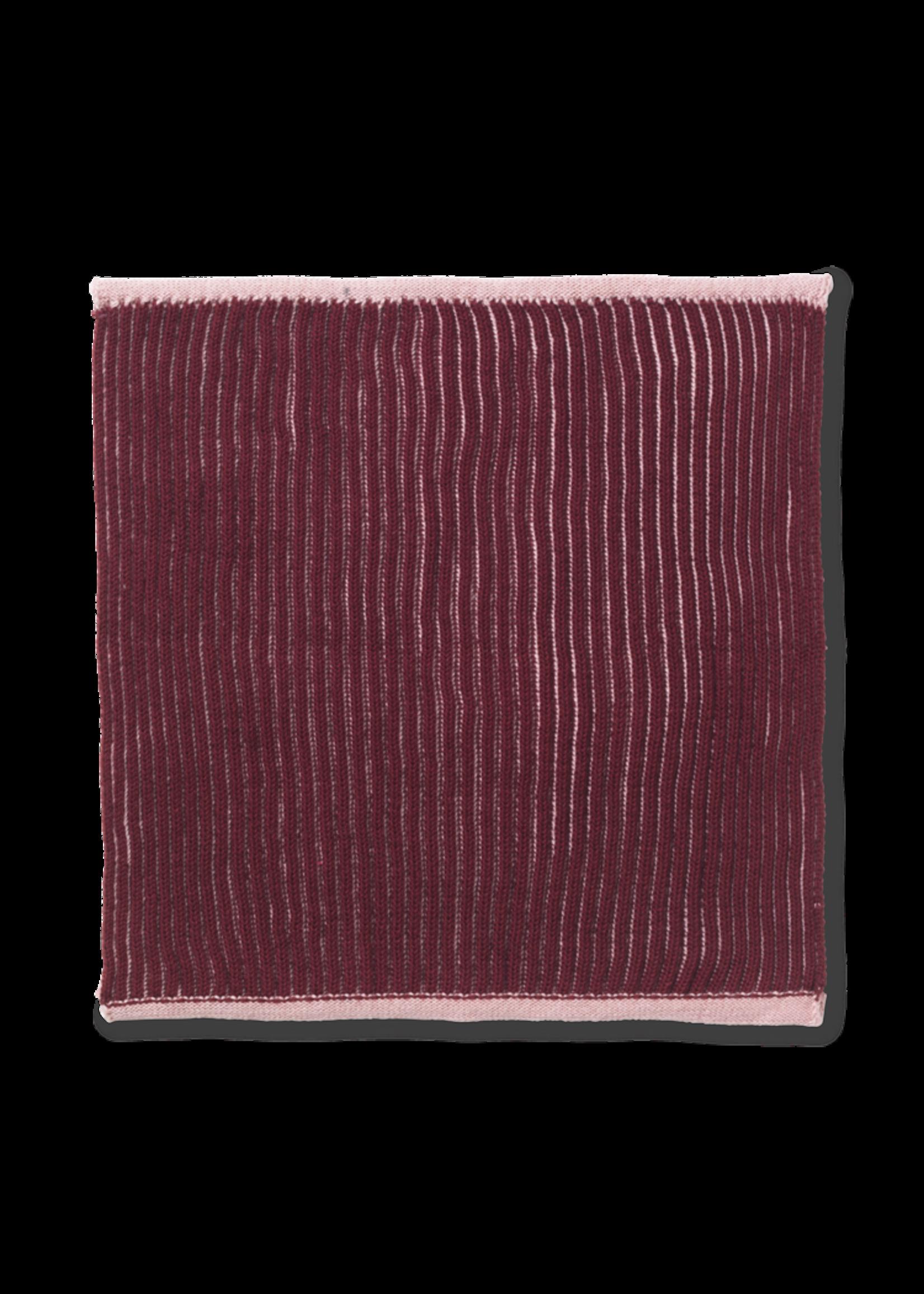ferm LIVING ferm LIVING Twofold Organic Cotton Dishcloth  - Red