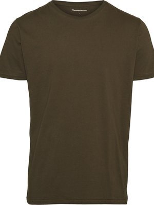 KnowledgeCotton Alder Basic T-shirt - 4 Colours