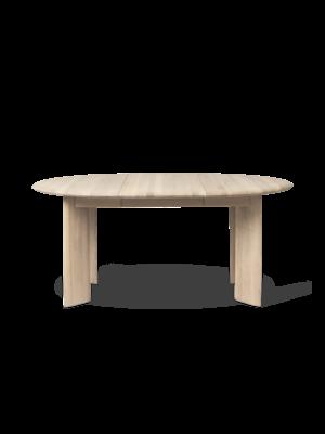 ferm LIVING Bevel Table - Extendable x 1 - White Oiled Oak