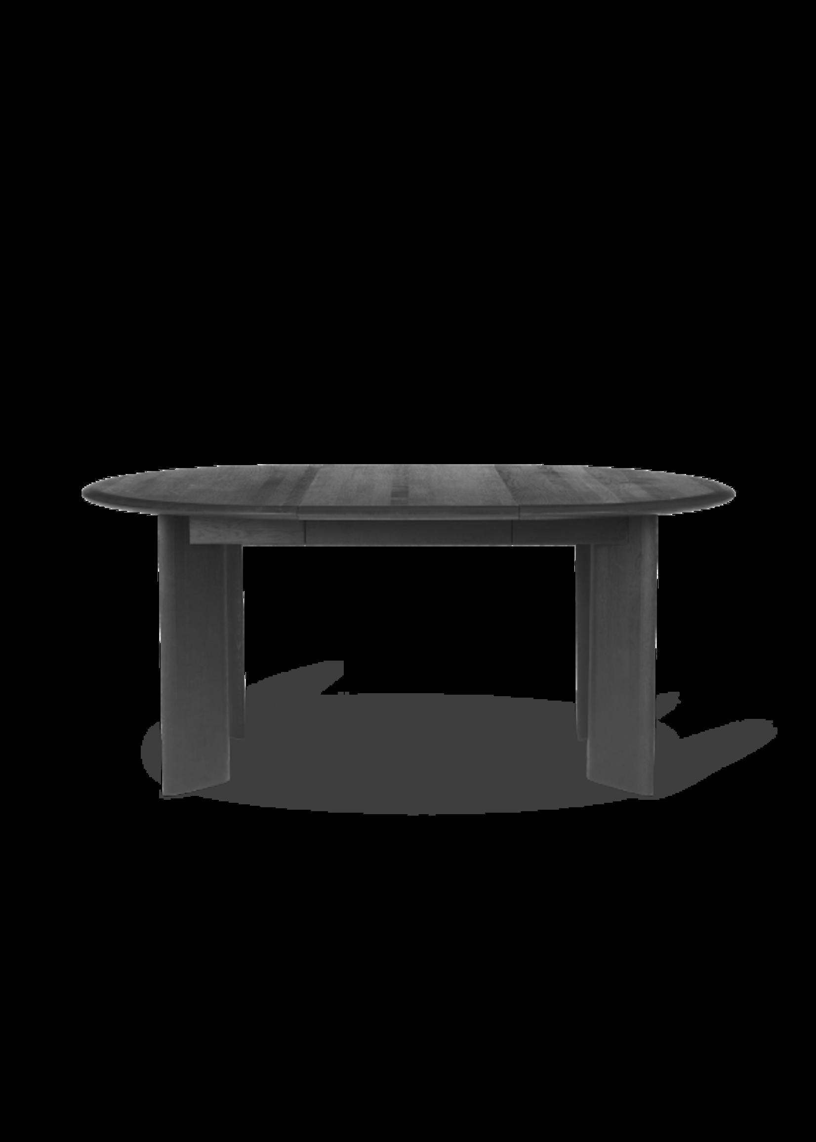 ferm LIVING ferm LIVING Bevel Table - Extendable x 1 - Black Oiled Oak