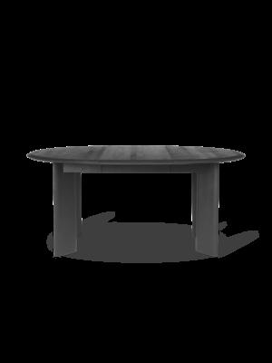 ferm LIVING Bevel Table - Extendable x 1 - Black Oiled Oak