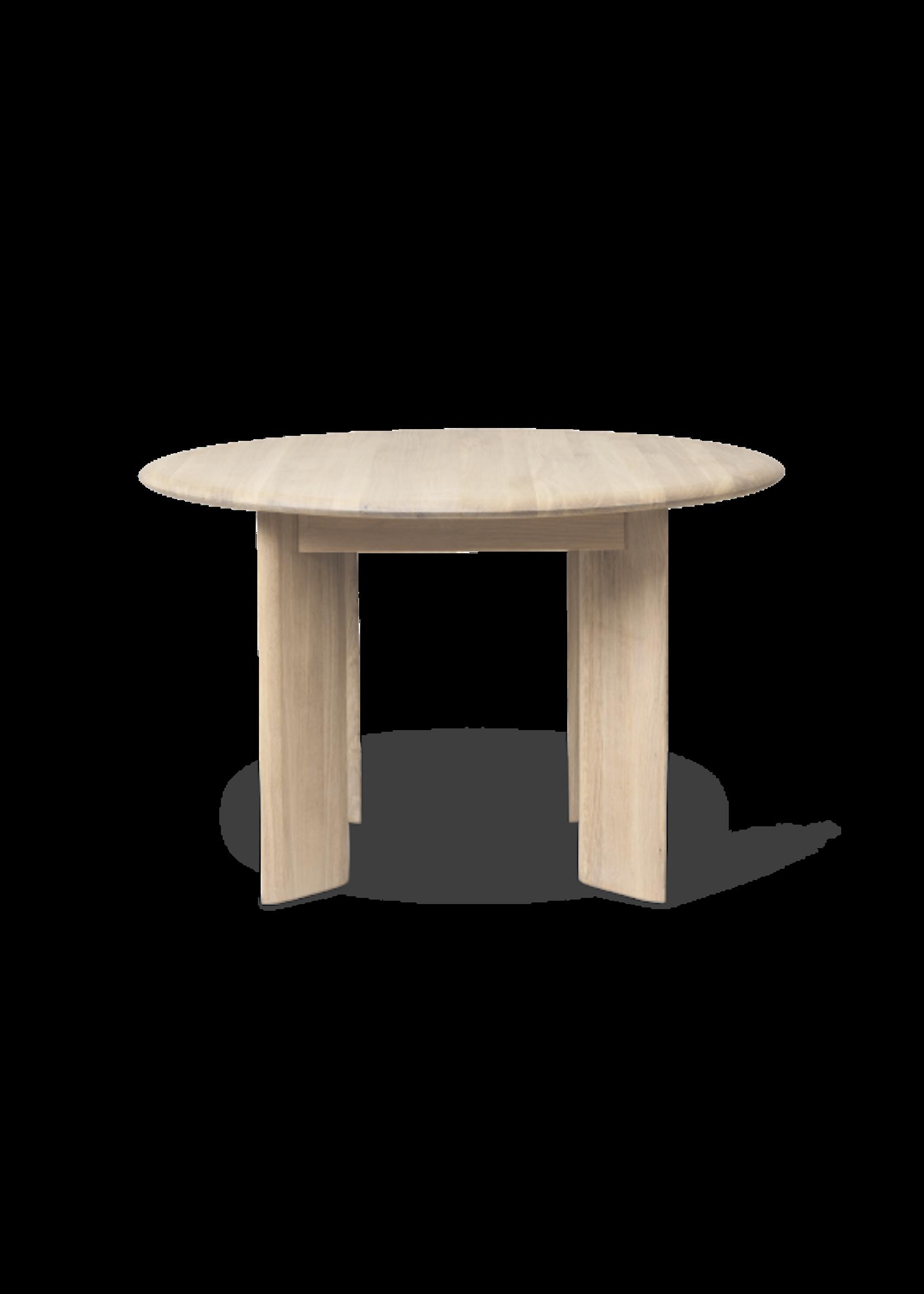ferm LIVING ferm LIVING Bevel Table - Extendable x 1 - White Oiled Oak