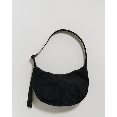 Baggu Medium Nylon Crescent Bag - Black