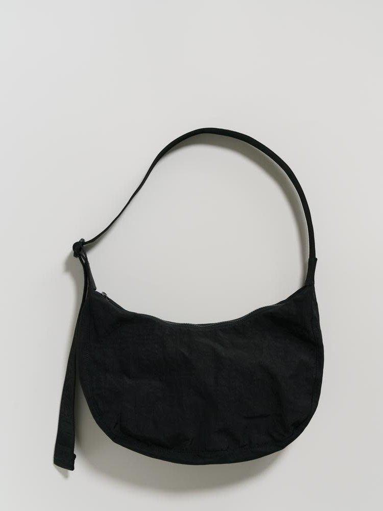 Baggu Baggu Medium Nylon Crescent Bag - Black