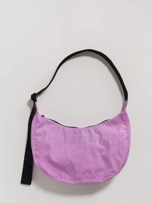 Baggu Medium Nylon Crescent Bag - Peony