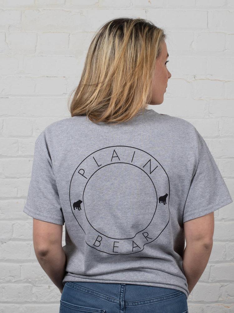 Plain Bear Plain Bear DS t-shirt in grey