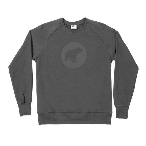 Plain Bear black on black sweater