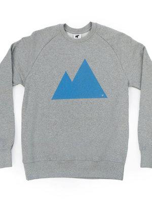 Plain Bear Mountain sweater in grey