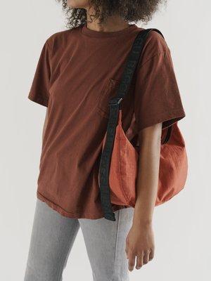 Baggu Baggu Medium Nylon Crescent Bag - Sienna