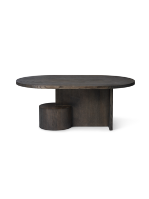 ferm LIVING Insert Coffee Table - Black stained