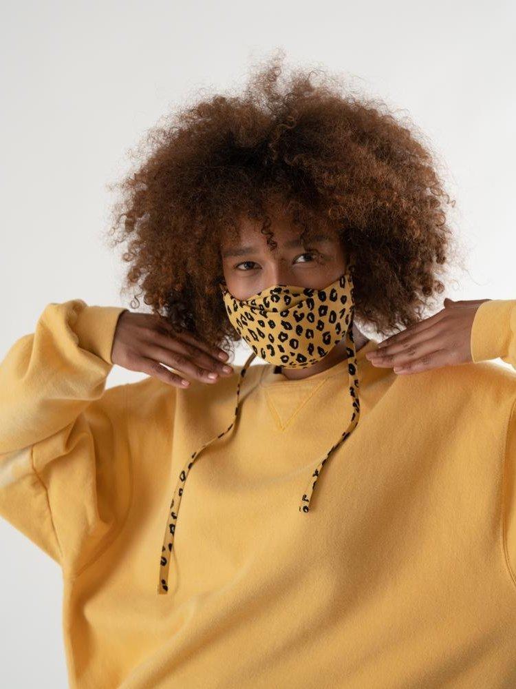 Baggu Baggu fabric Tie mask set - Gingham, Leopard and Stripes
