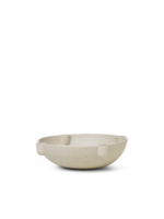 ferm LIVING Bowl Candle Holder - Ceramic