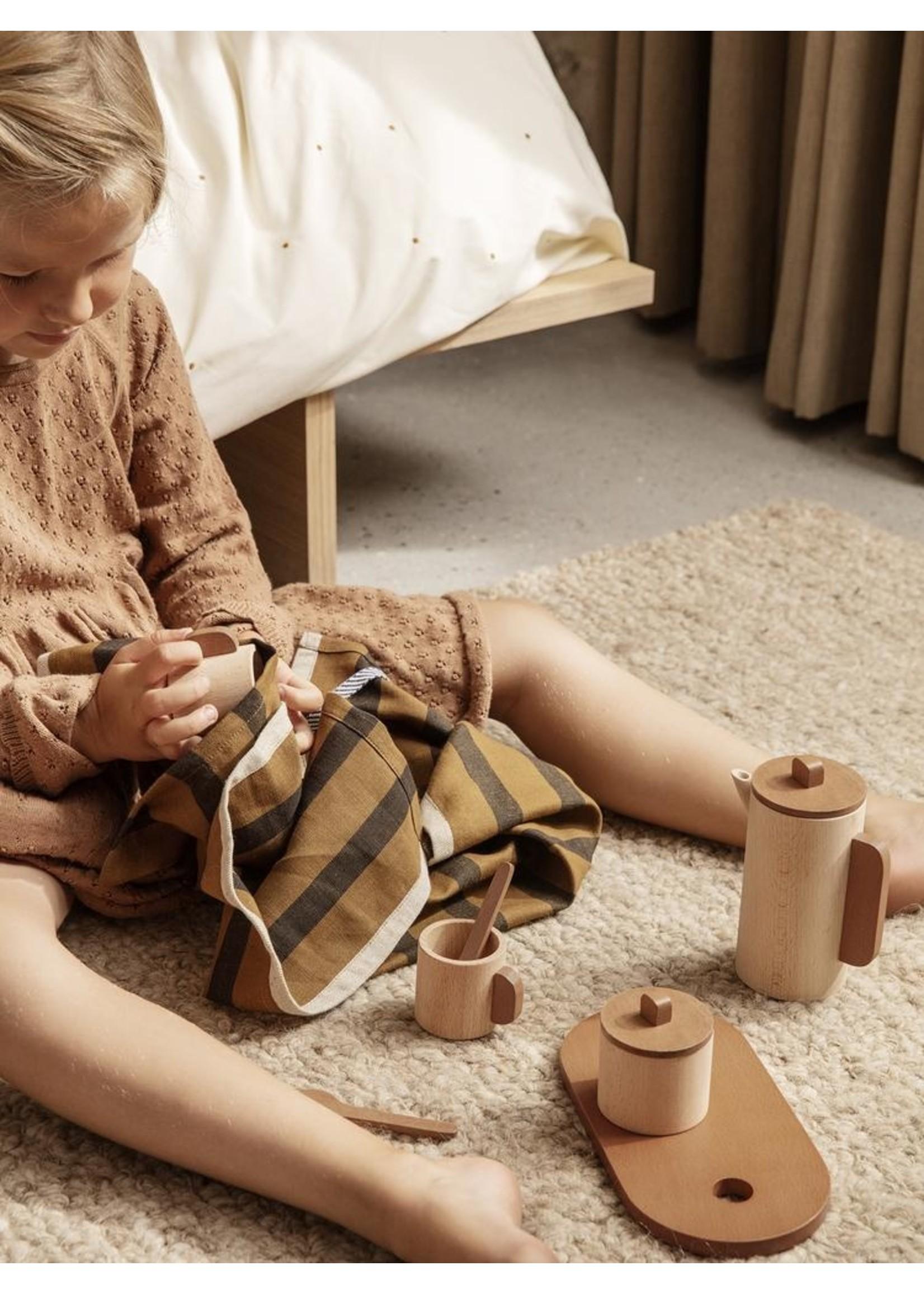 ferm LIVING Ferm Living Toro Tea Set Natural