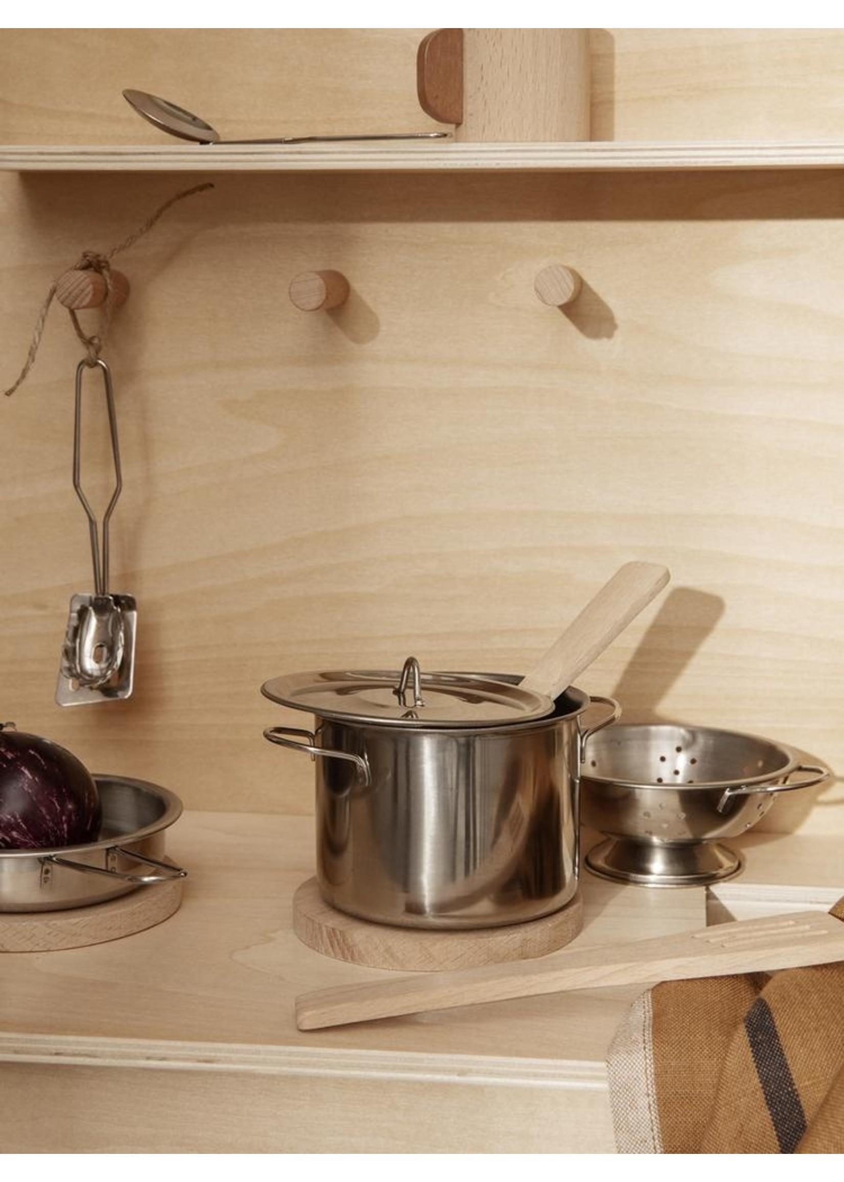 ferm LIVING Ferm Living Toro Play Kitchen Tools - Set of 9