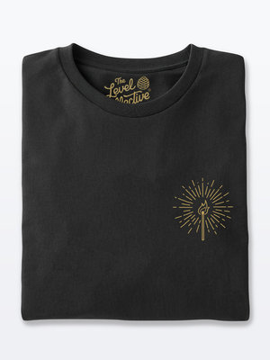 The Level Collective The Level Collective Burn Bright T-shirt Black