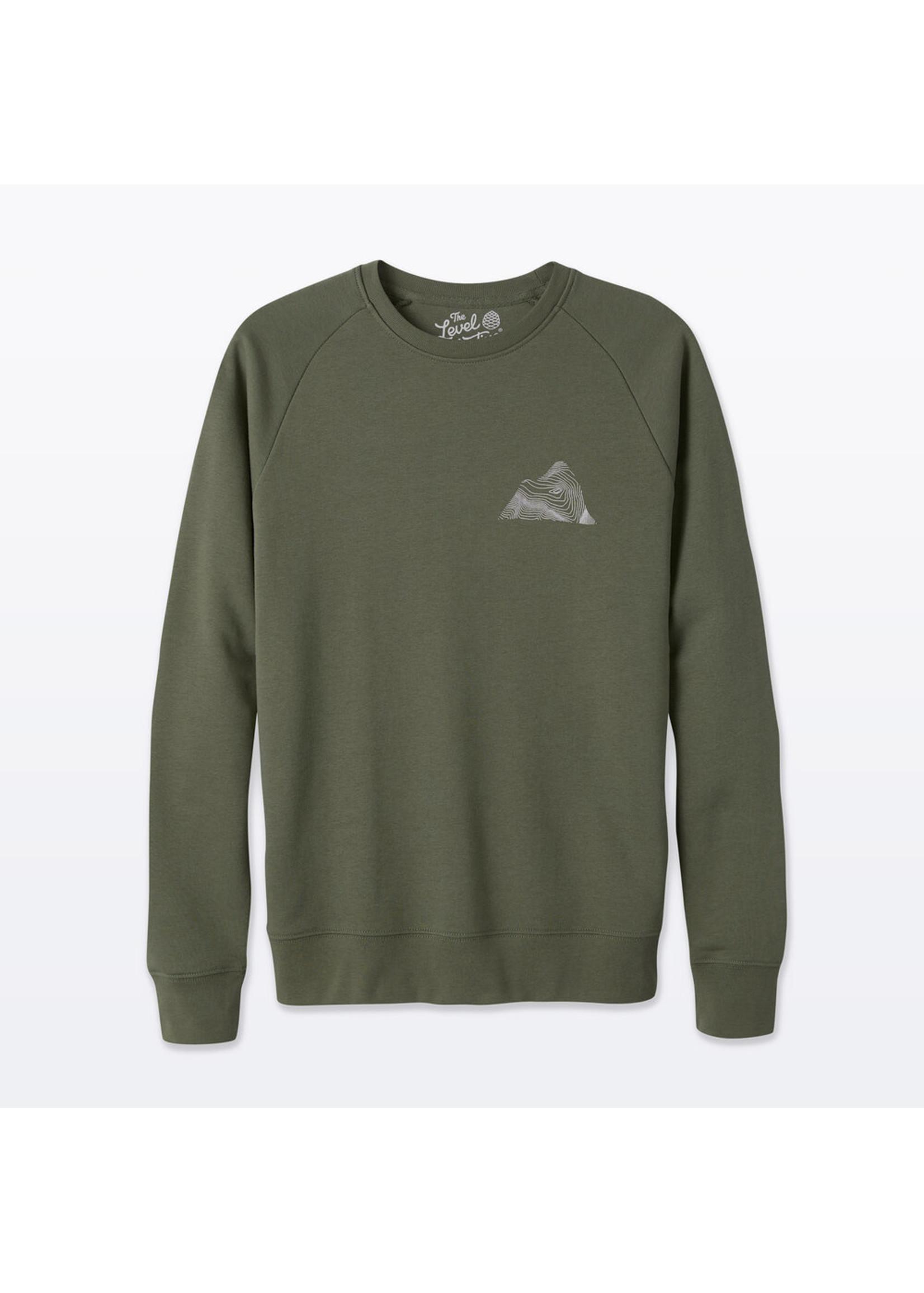 The Level Collective The Level Collective Peaks Sweater Khaki