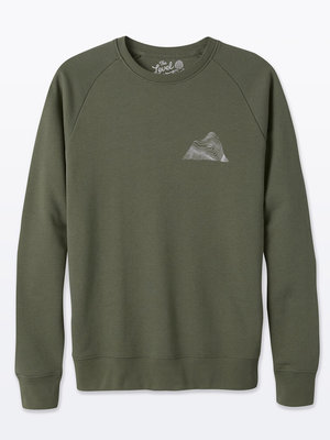 The Level Collective Peaks Sweater Khaki