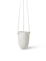 ferm LIVING Speckle Hanging Pot - Small - Off-White
