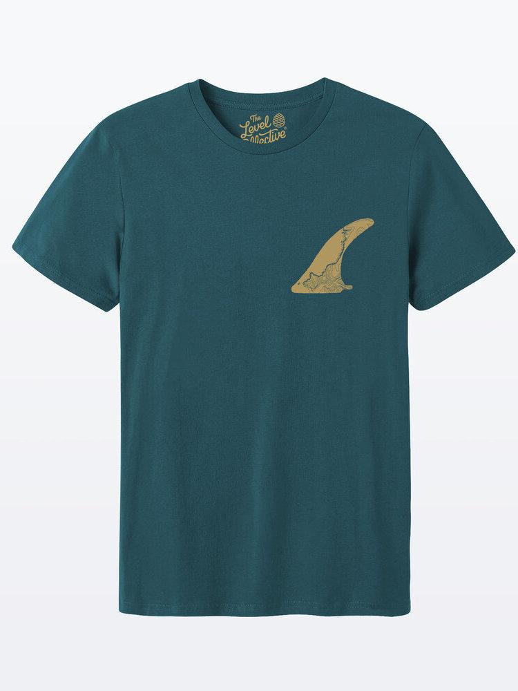 The Level Collective The Level Collective FIN T-shirt Teal
