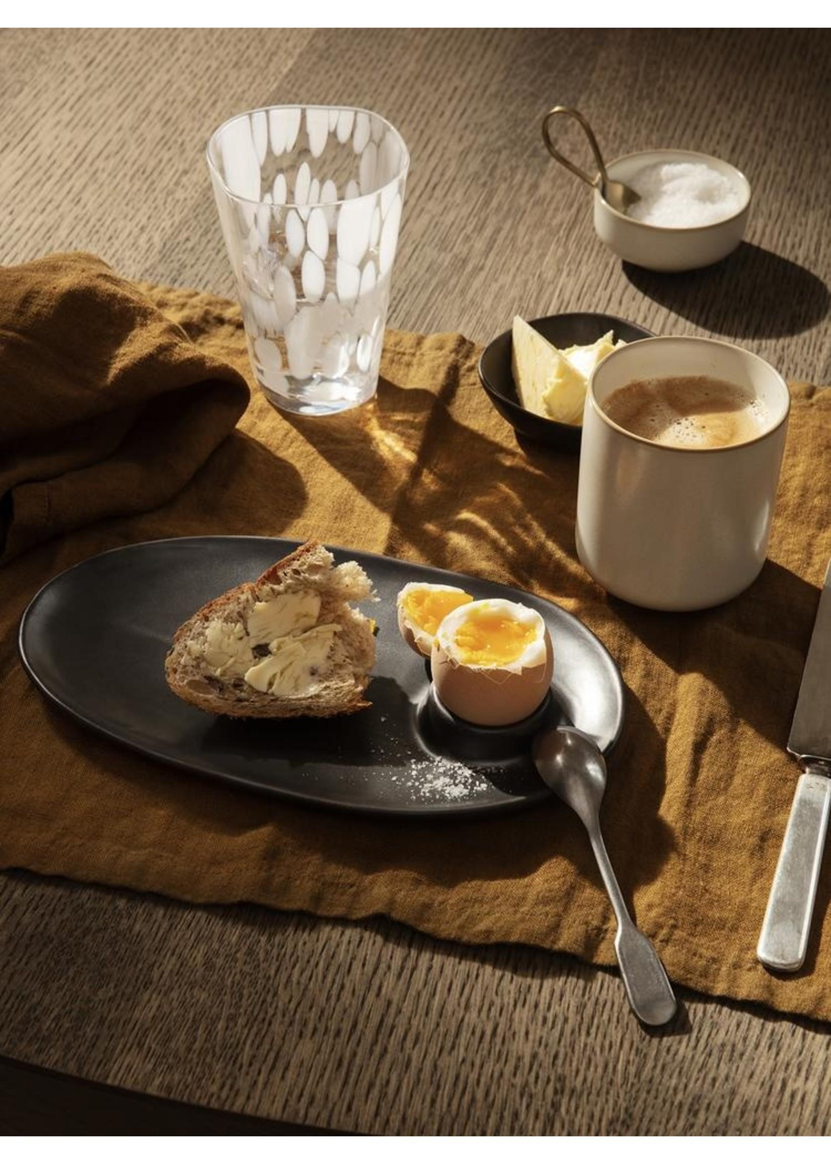 ferm LIVING ferm LIVING Flow Breakfast Plate - Black