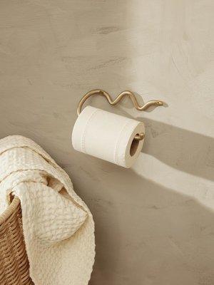 ferm LIVING ferm LIVING Curvature Toilet Paper Holder - Brass