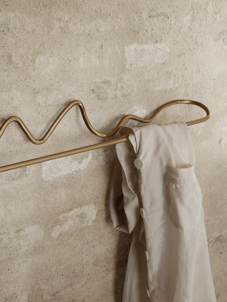 ferm LIVING ferm LIVING Curvature Towel Hanger - Brass