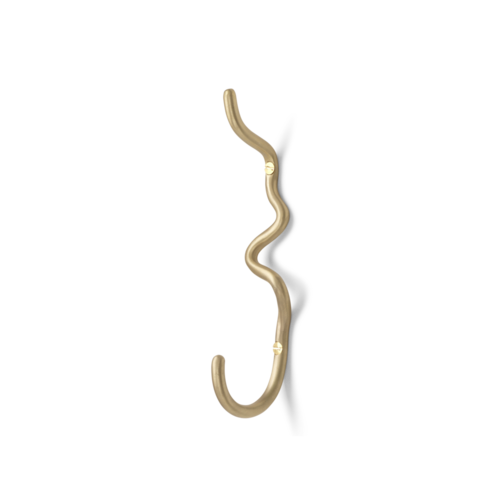 ferm LIVING Curvature Hook - Brass