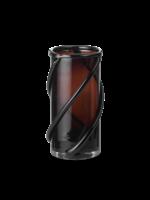 ferm LIVING Entwine Vase - Small - Dark amber