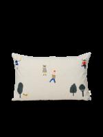 ferm LIVING Park Cushion - Natural