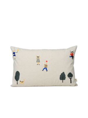 ferm LIVING Park Cushion - Natural
