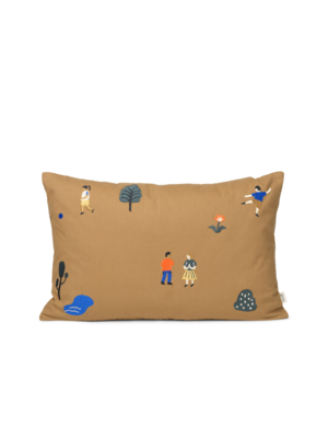 ferm LIVING Park Cushion - Sugar Kelp