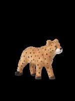 ferm LIVING Animal Hand-Carved Cheetah