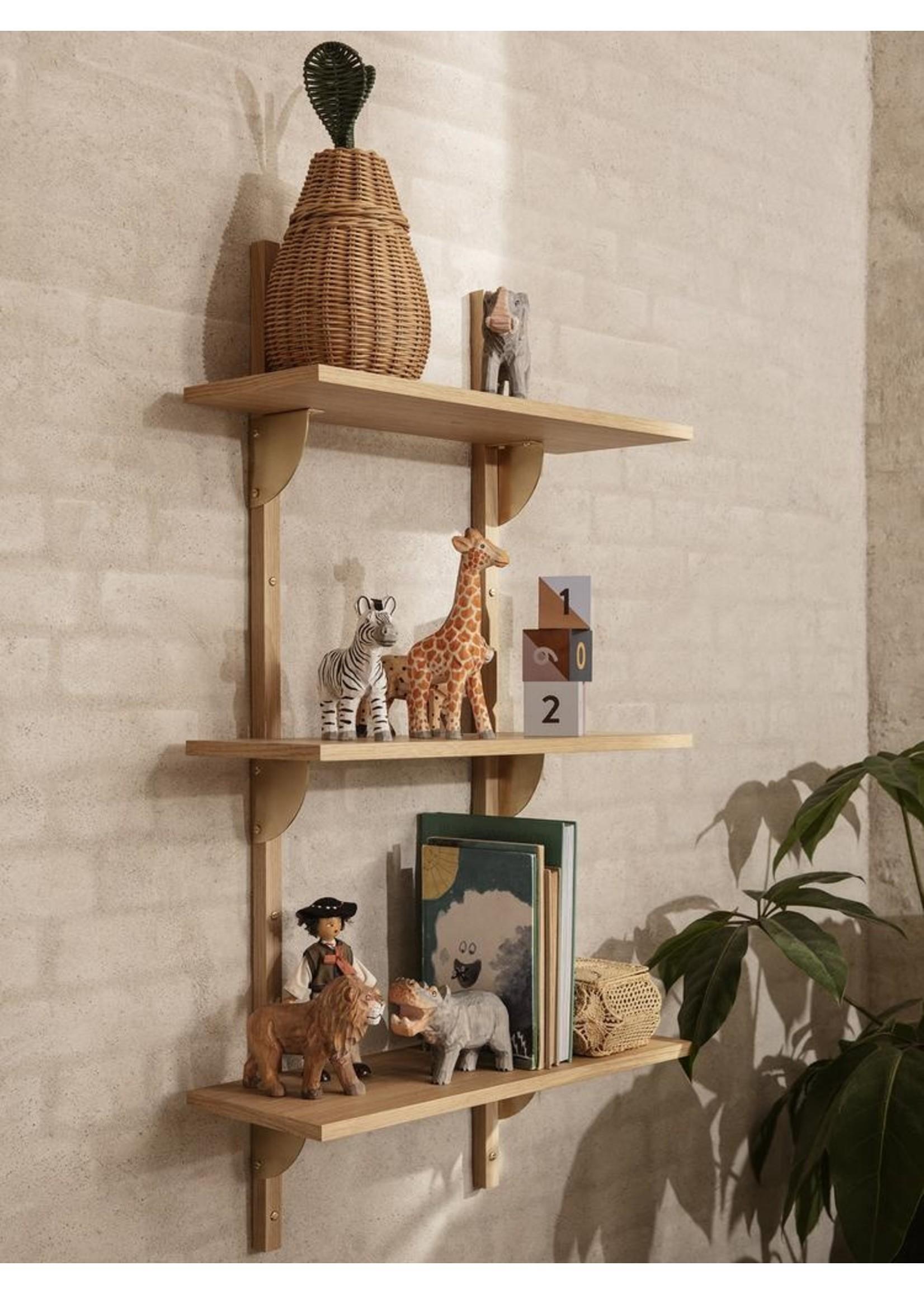 ferm LIVING ferm LIVING Animal Hand-Carved Hippo
