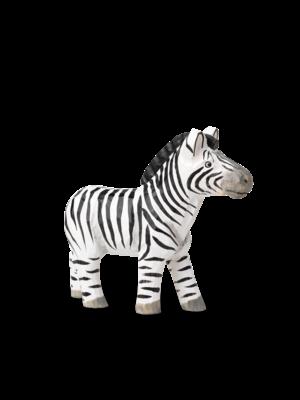 ferm LIVING Animal Hand-Carved Zebra