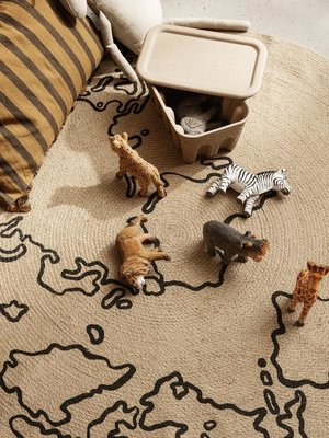 ferm LIVING ferm LIVING Animal Hand-Carved Zebra