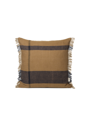 ferm LIVING Dry Cushion - Sugar Kelp/Black