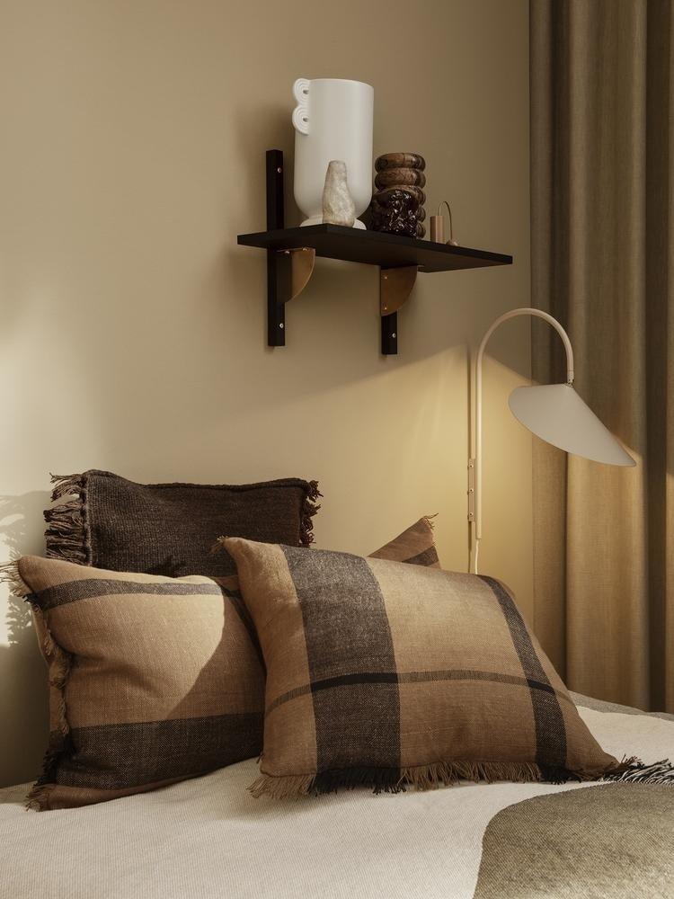 ferm LIVING ferm LIVING Dry Cushion - Sugar Kelp/Black