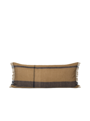 ferm LIVING ferm LIVING Dry Cushion - Long - Sugar Kelp/Black