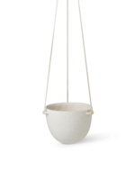 ferm LIVING Speckle Hanging Pot - Large - Off-White