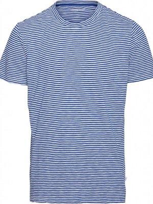 KnowledgeCotton KnowledgeCotton Alder Narrow Striped T-shirt
