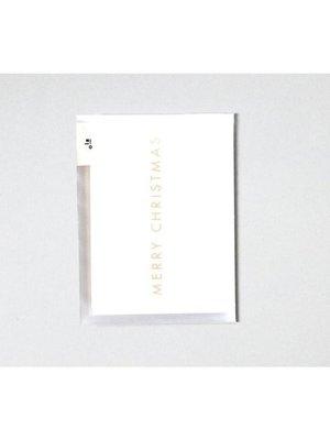 Ola Ola Foil Blocked Cards: Merry Christmas Print Pack of 6