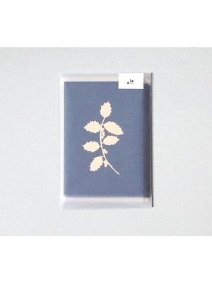 Ola Foil Blocked Cards: Holly Print Pack of 6