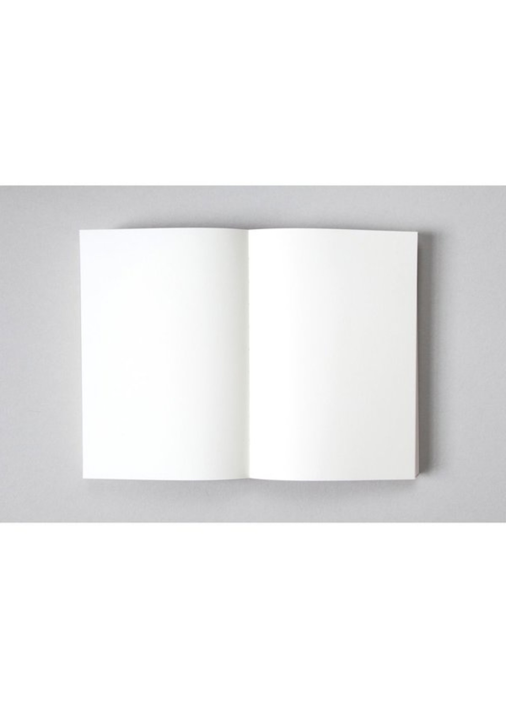 Ola Ola Medium Layflat Notebook - Sol Print in Black and White/Plain Pages