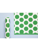 Ola Patterned Papers: Circle Print in Green