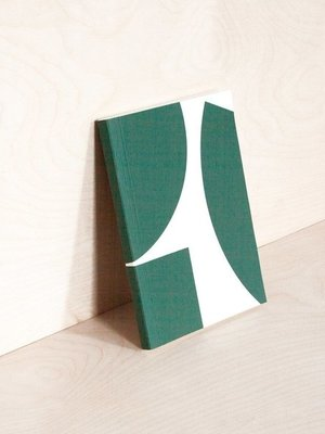 Ola Ola *Limited Edition* Medium Layflat Weekly Planner, Blocks Print in Green - Calendar Insert: 2020/2021