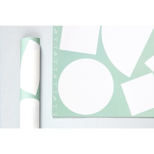Ola *Limited Edition* Patterned Papers, Blocks Print in Mint