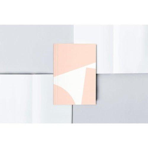 Ola *Limited Edition* Pocket Layflat Weekly Planner, Blocks Print in Pink