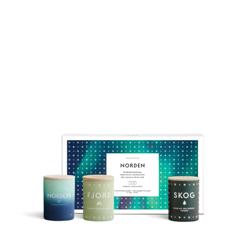 SKANDINAVISK NORDEN Collection - Three Mini Candle Gift Set
